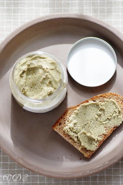 Crème d'artichauts au mascarpone