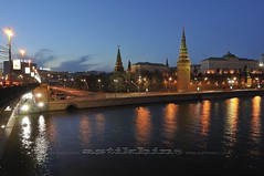 Reflection in Moscow River. Bolshoy Kamenny Most and Moscow Kremlin at night (astikhin) Tags: city travel bridge sky plant reflection tree nature horizontal architecture night composition river season outdoors photography spring cityscape image russia dusk moscow scenic nobody tall setting viewpoint kremlin frontview naturalphenomenon manmadestructure moscowriver urbanscene flowingwater colorimage moscvariver buildingexterior moscowkremlin descriptiveposition builtstructure middistance physicaldescription geographicallocations humansettlement bolshoykamennymost astikhin wwwastikhincom alekssphoto