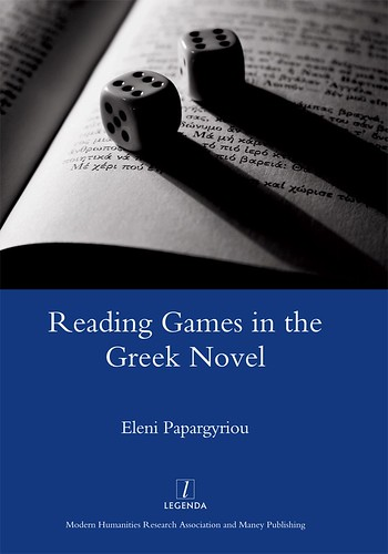 Reading Games in the Greek Novel (cover)