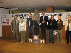 EU Senior Rapid 2011 Podium Open