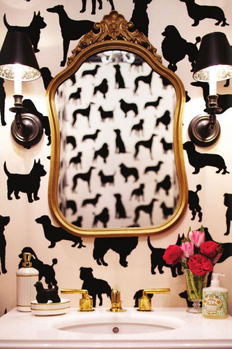 dog wall paper