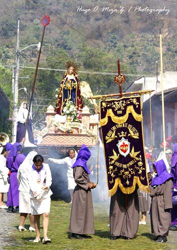 Procesión de La Iglesia de Santa Ana , Antigua Guatemala08