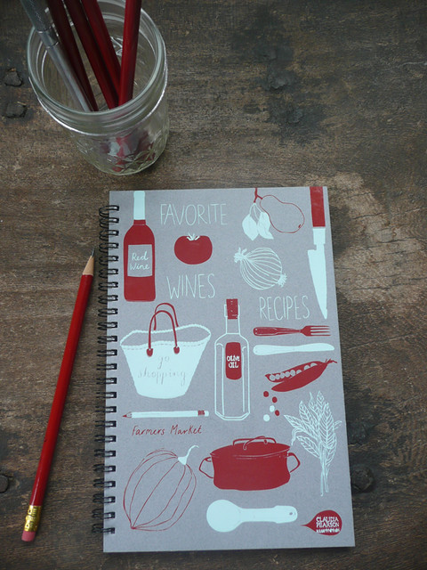 Favorite Food Journal gray cover