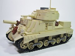 "M3 Grant Medium Tank - ""Jack The Ripper"" (PhiMa') Tags: lego northafrica grant wwii ww2 worldwar2 desertrats granttank m3grant m3lee legogranttank leemediumtank british7tharmored"