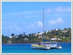 Adventure on the Carribean Queen (KT of Lake Orion) Tags: antigua catamaran treasureislandcruises