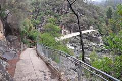 tasmania 2011 - a2b cataract gorge ab (liam.jon_d) Tags: bridge river walking track suspension walk south first australia trail tasmania gorge 100 launceston cataract esk southesk billdoyle firstbasin