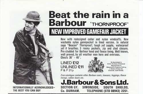 Barbour Gamefair Advert by Thornproof