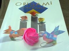The Coffee House Origami Fairy: Toshikazu Kawasaki - Rose (Insomniac Folder) Tags: rose origami kami kawasaki toshikazukawasaki toshikazu origamifortheconnoisseur