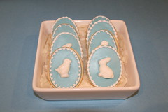 Easter Eggs Cookies (Nadia Bakes) Tags: cookies easter egg wedgwood easteregg jasperware