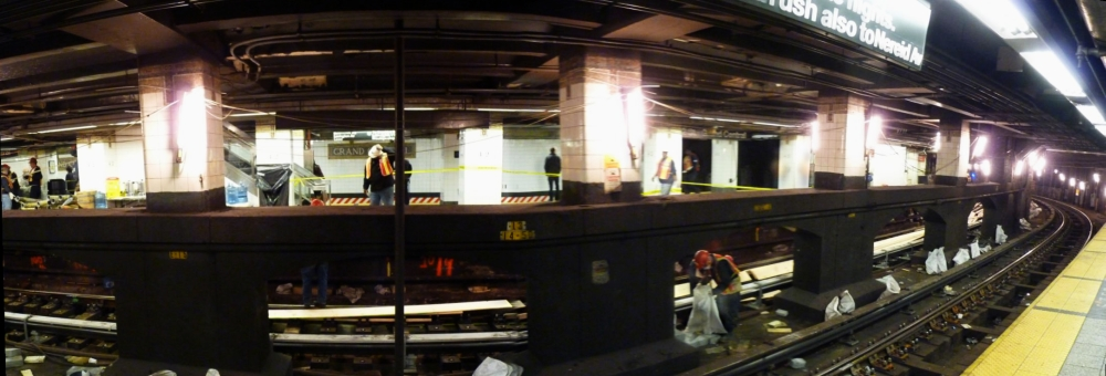 Subway Construction - Grand Central