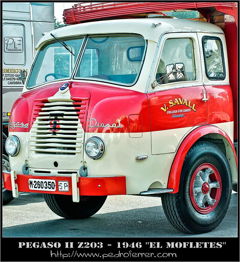 """II Truck Show Festival de Torrelavega - Pegaso II Z-203 """"el mofletes"""""""