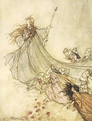 "Arthur Rackham - illustration from ""A Midsummer-Night's Dream"" (sofi01) Tags: arthurrackham"