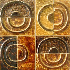 Rondr. (kroons vintage) Tags: sweden tiles sverige 1960s kakel falun azulejos walldecoration kroons vggdekoration dokumentr kroonsdokumentr annkroon