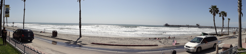 Oceanside Beach Pano