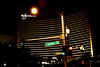 wynn (Luis Eduardo ®) Tags: urban sign night dark lights hotel traffic lasvegas luismosquera