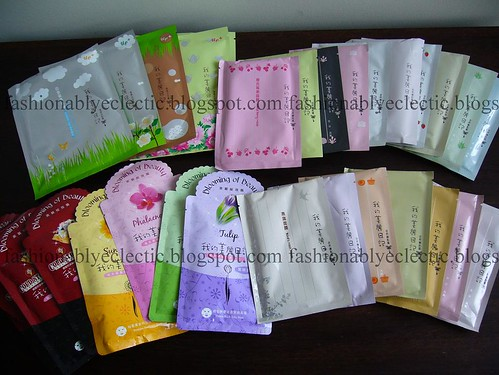 My Beauty Diary face masks