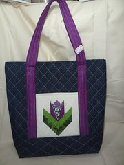 B-ALICE (ArteTerapia) Tags: bag purse fuxico sue patchwork handbag bolsas riscos aplicacao apllique passoapasso bolsadetecido