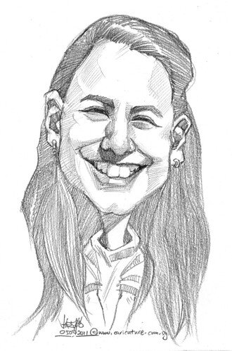 caricature in pencil - 21