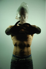 Richard Field (Campbell Addy) Tags: male face muscles silhouette hands shadows homoerotic topless faceless torso figures