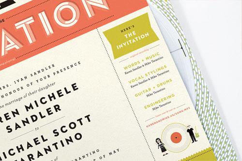 invitation by kelli anderson