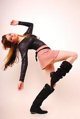 [フリー画像] 人物, 女性, ファッション, スタジオ, ブラジル人, 201104220900