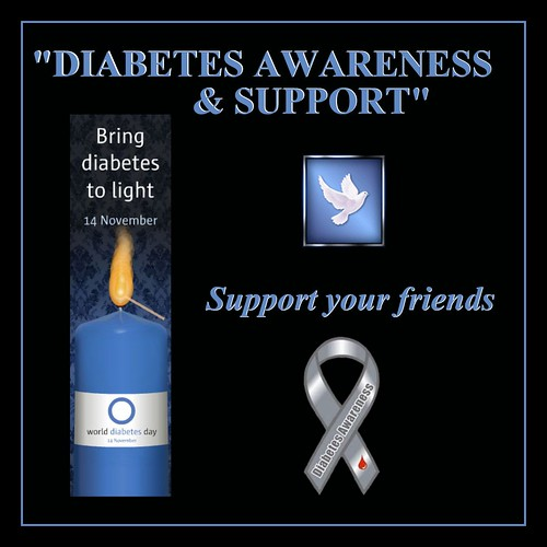 DIABETES AWARENESS & SUPPORT ~ a new group on flickr
