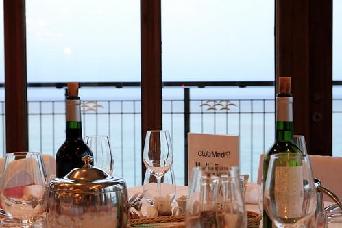 Restaurant View ClubMed Kabira Press Tour