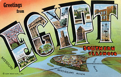 Greetings from Egypt, Southern Illinois - Large Letter Postcard (Shook Photos) Tags: illinois linen postcard egypt cairo postcards mississippiriver greetings ohioriver linenpostcard southernillinois bigletter olivebranch cairoillinois largeletter littleegypt largeletterpostcard linenpostcards largeletterpostcards bigletterpostcard bigletterpostcards olivebranchillinois