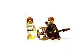Spellblade Siblings (Jackbrick101) Tags: world wow lego warcraft warrior hunter priestess jackbrick101