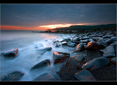 Last light at Kimmeridge bay.... (Chrisconphoto) Tags: longexposure sunset seascape canon landscape rocks dorset lastlight kimmeridgebay 10seconds chrisconway sigma1020mm jurassiccoast goodlight nd8 eos400d wwwchrisconphotocom