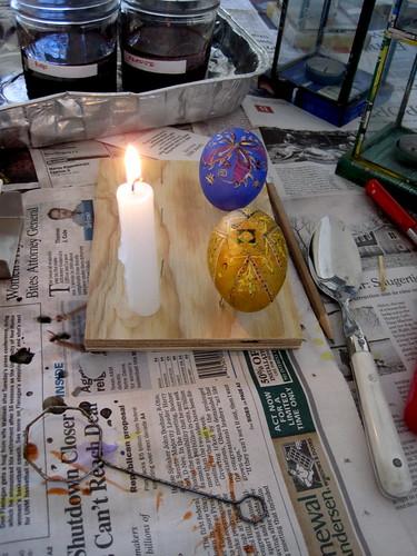 Egg Two Gets Its Third Dye Job