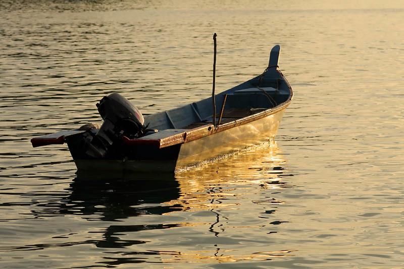 fiberglass boat silhouette