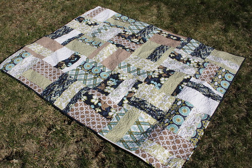 modern meadow quilt front by [griff] [griff] 'n [chuck]