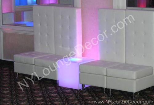 Furniture Rentals- Lounge Seating - NYLoungeDecor.com