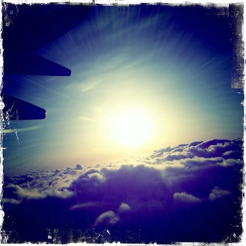 flyin high over SF