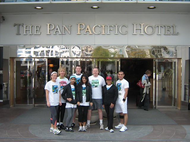 The Pan Pacific 2011 Vancouver Sun Run Team!