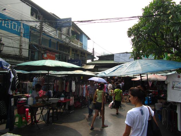 Outside Ta Prachan Boat Station
