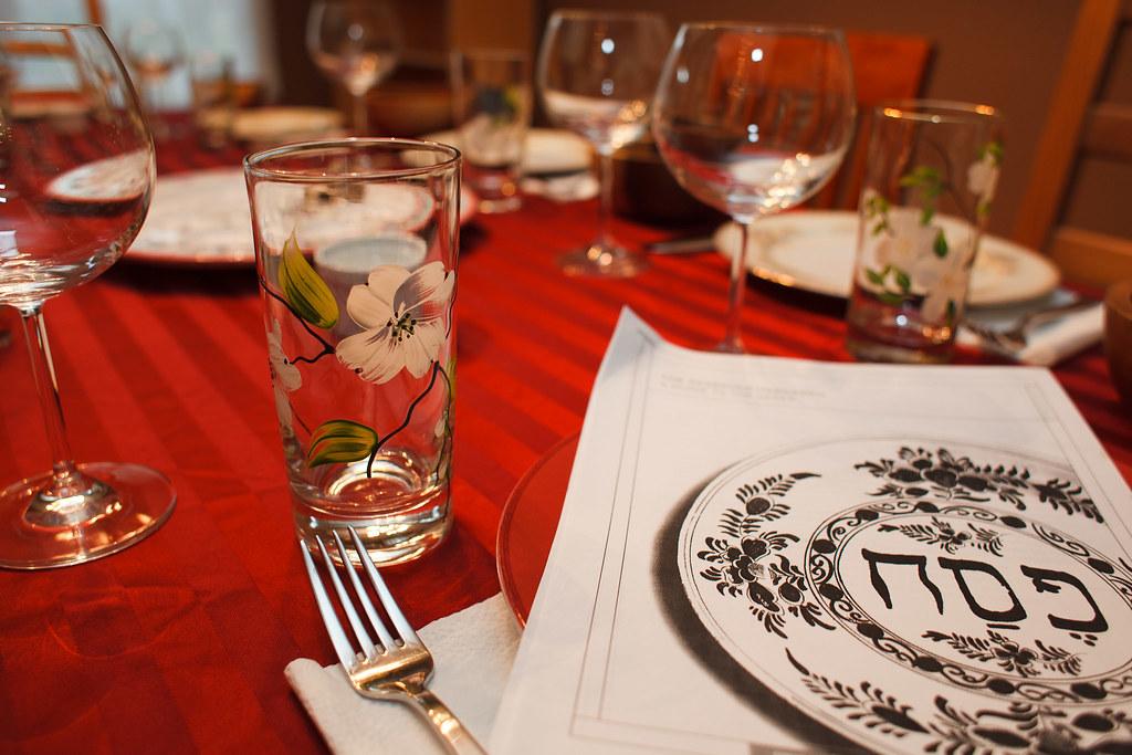 Hagaddah and Glass