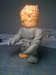 Chaosman 015 (TroyStith) Tags: earthquake tsunami donation kaiju customtoy realxhead chaosman apoxiesculpt troystith gorillamouth kaijuforjapan