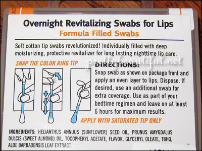 Swab Plus To Go - Overnight Revitalizing Swabs for Lips 2
