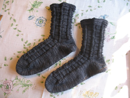 square socks: done
