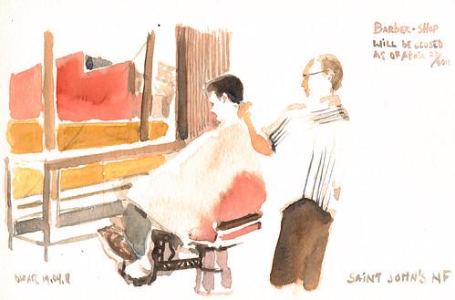 Barber Saint John's