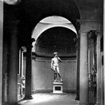 Sculpture de David par Michel-Ange, Tribune, Galerie antique et moderne, Florence