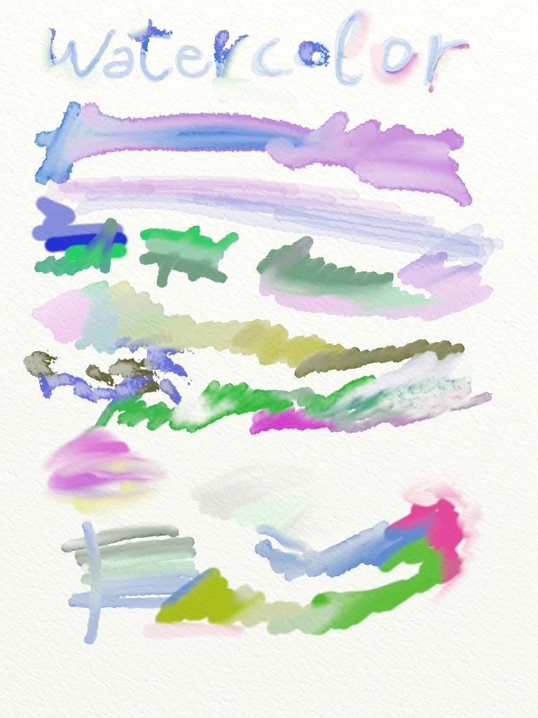 ArtRage per iPad: acquarelli