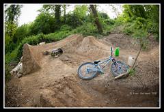 Sick Trail! ( YariGhidone ) Tags: fish eye bike sport jump nikon photographer shot extreme fisheye mtb 105 niko nikkor turin yari d700 nikond700 ghidone yarighidone