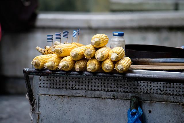 athens - corn