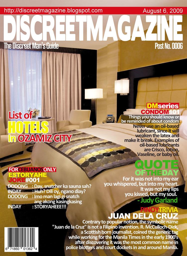 Discreet Magazine August 6 2009