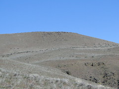 Looking towards the highest summit on Yakima Skyline trail.