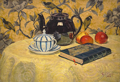 La Thire Noire (The Black Teapot) 1924 (Chamant) Tags: stilllife france art painting belgique tea peinture canvas painter impressionism teapot impressionist huile toile naturemorte peintre th belge thire impressionnisme postimpressionist impressionniste peintrebelge postimpressionniste lebacq georgesemilelebacq belgianpainter georgeslebacq