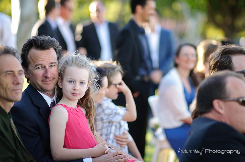 Julia & Sean's Wedding - Cute girl with her dad
